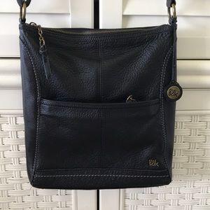 The Sak black leather crossbody bag genuine iris